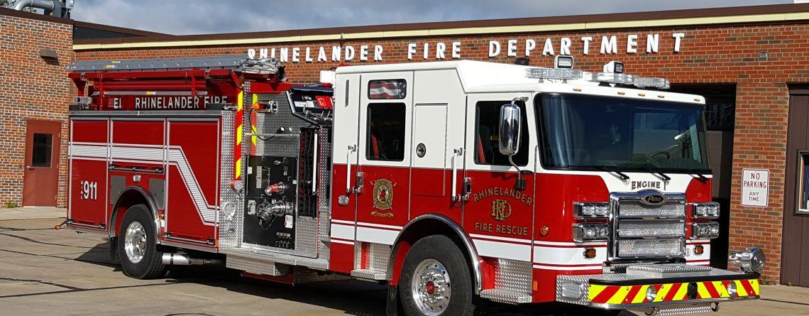 Rhinelander Fire Department – 2016 Enforcer Pumper