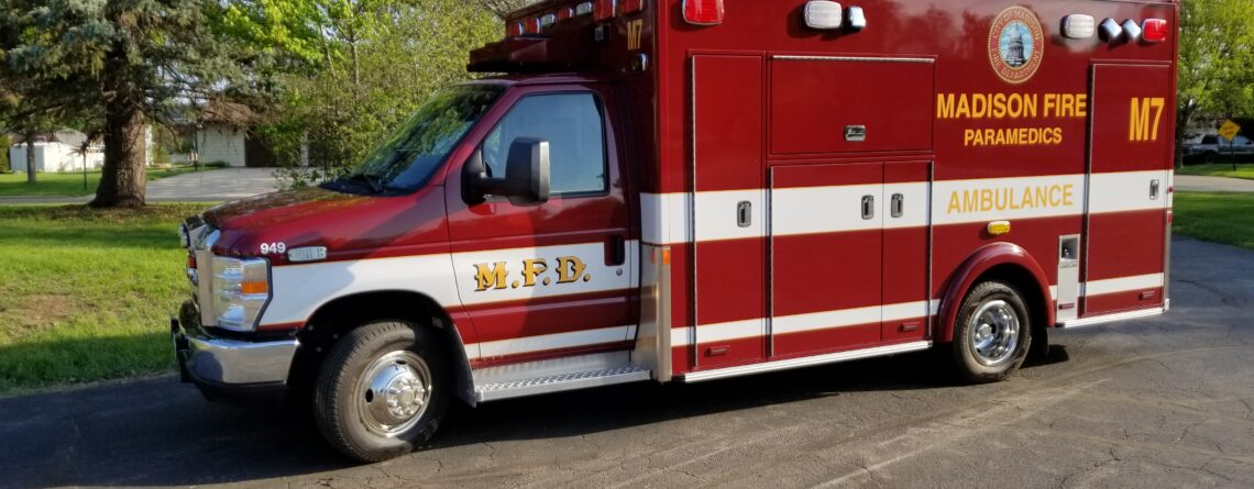 Madison Fire Department new Med 7