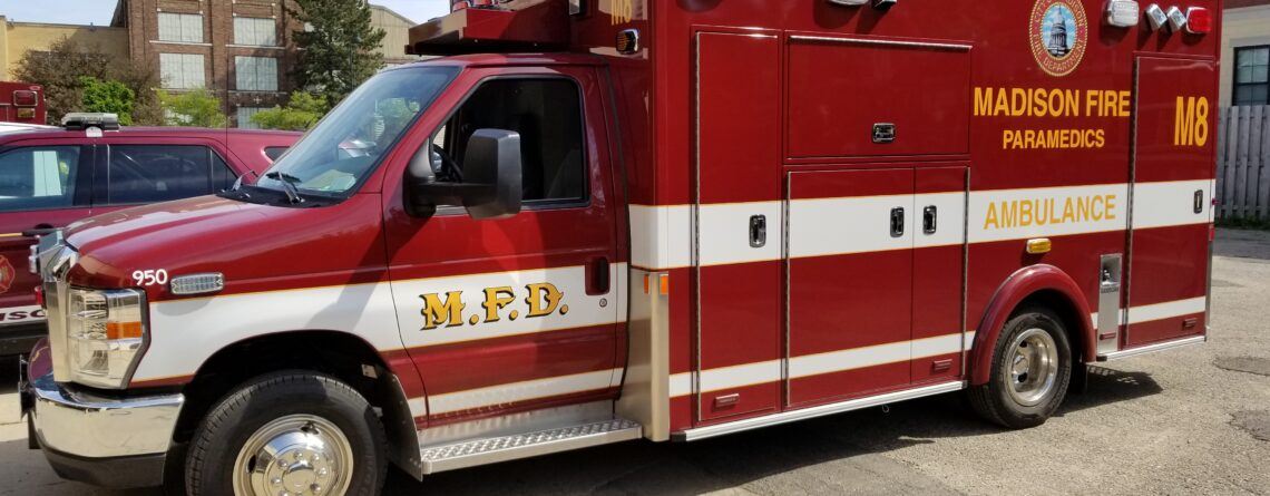 Madison Fire Department new Med 8