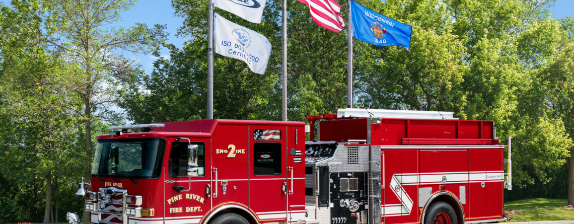 2019 Pierce Enforcer – Pine River Fire Department