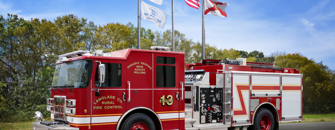 2019 Pierce Saber – Langlade County Rural Fire Control