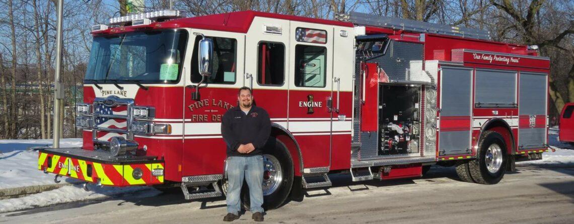 2016 Pierce Enforcer – Pine Lake Fire Department
