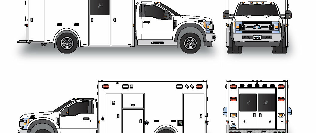 Demers MXP170 Demo Ambulance – Ford F450 4×4 – Coming March 2021